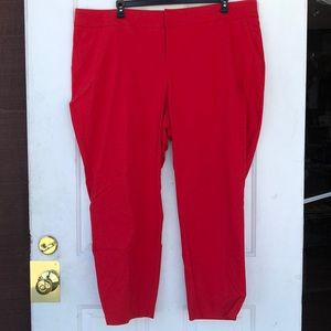 TORRID RED STRETCH PANTS!!  #P1